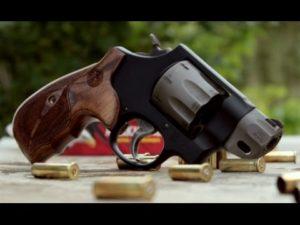 Handguns accommodated